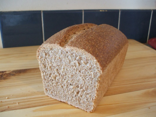 whole wheat/rye bread, no caraway